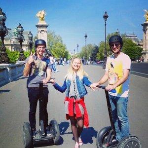 Прогулка по Парижу на Segway