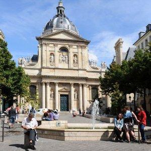 Латинский квартал — интеллектуальный центр Парижа