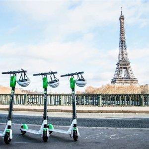Главное в Париже на электросамокатах