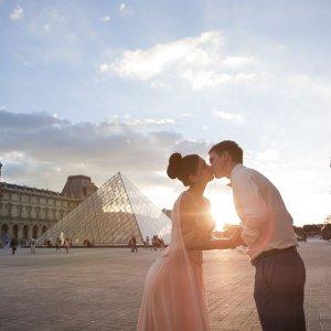 Фотосессия в идеальных местах Парижа