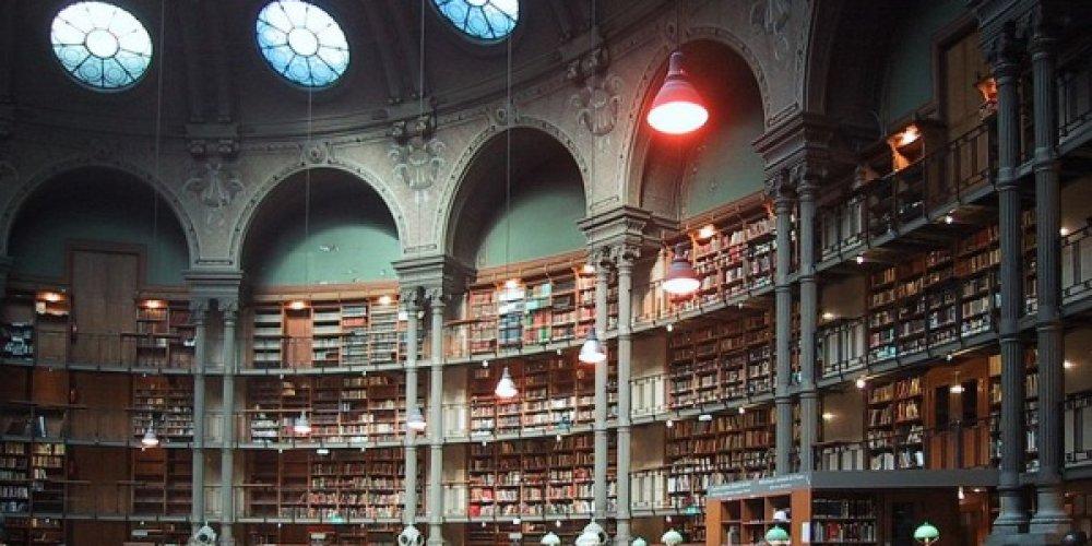 Национальная библиотека - одна из крупнейших библиотек мира