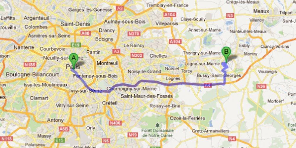Как доехать из Парижа до Диснейленда