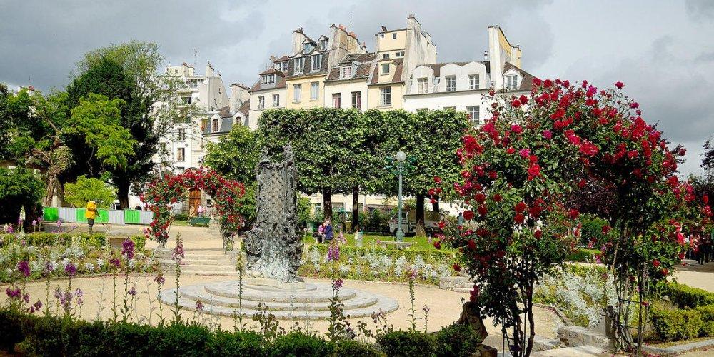 Погода в Париже в июне