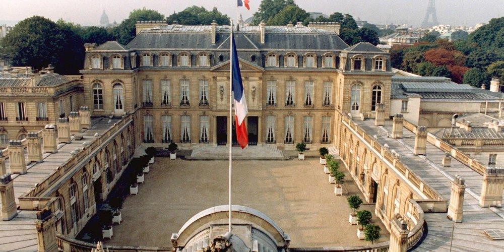 Елисейский Президентский дворец