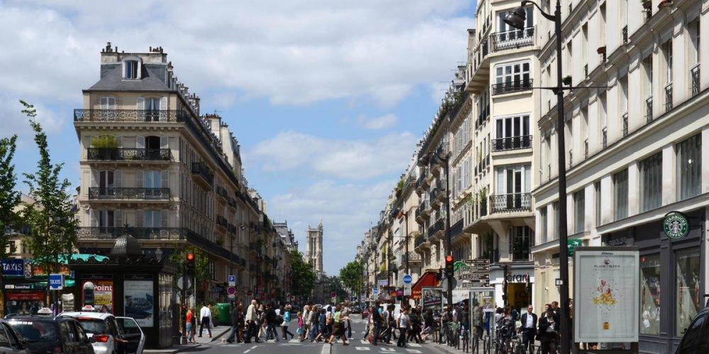 Улица Риволи