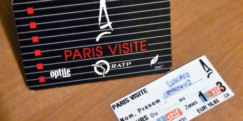 Абонементная карта Paris Visite
