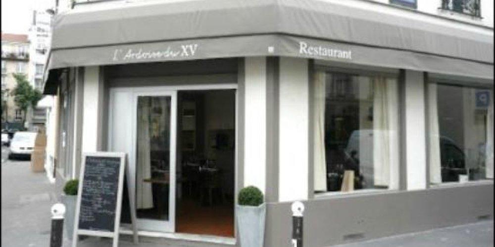 Ресторан L'Ardoise du XV