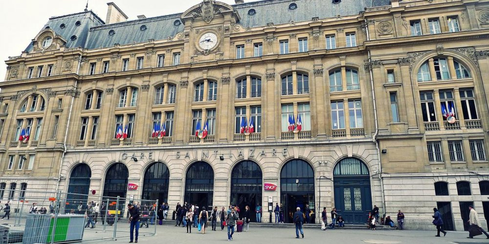 Железнодорожный вокзал Сен-лазар
