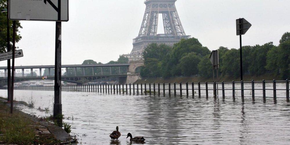 Наводнение в Париже 2016