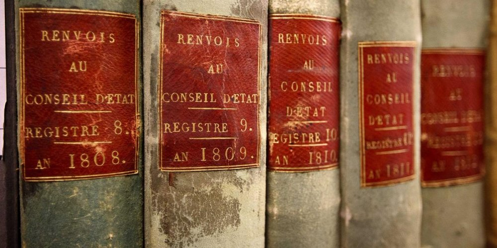 Национальные архивы Франции