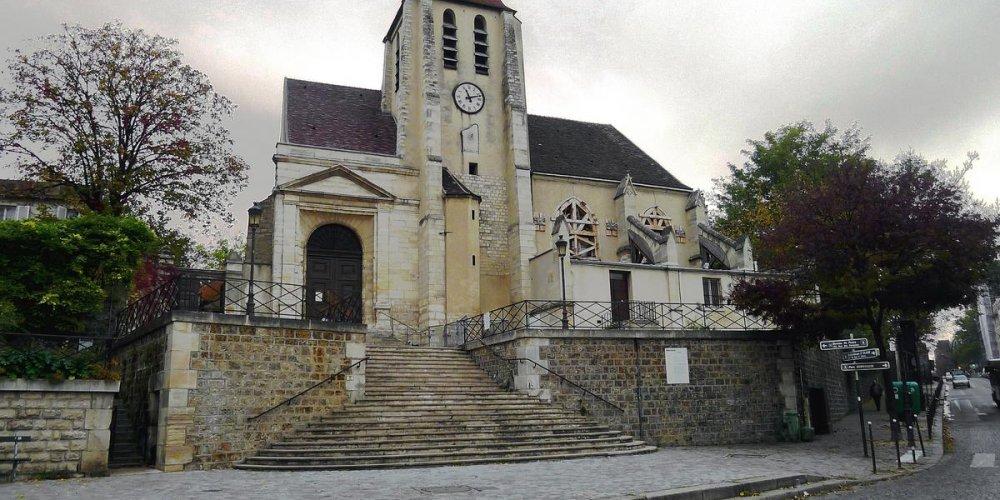Церковь Сен Жермен де Шарон