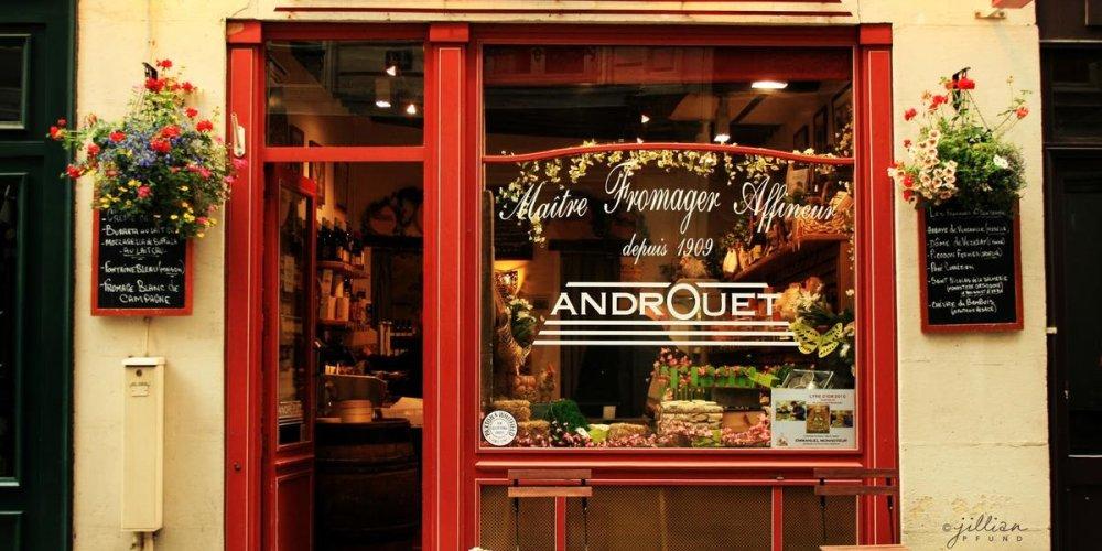 Сырный магазин Andrоuet
