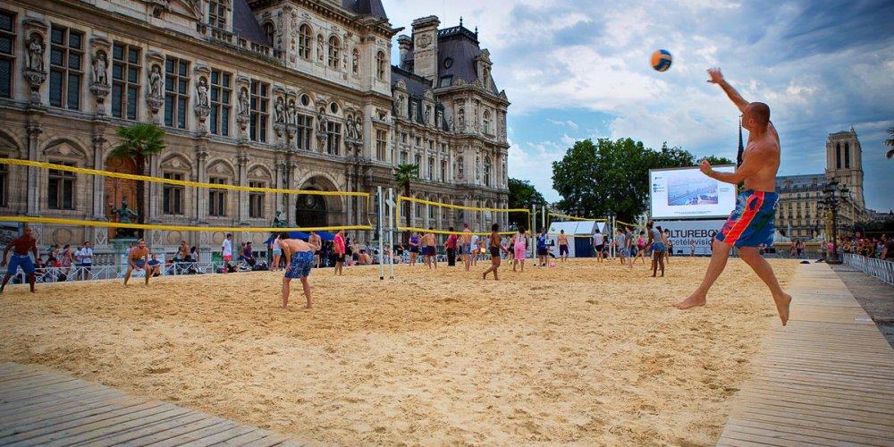 Пляжи Парижа