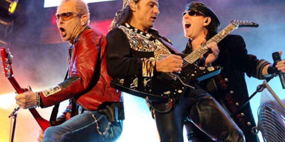 Концерт Scorpions