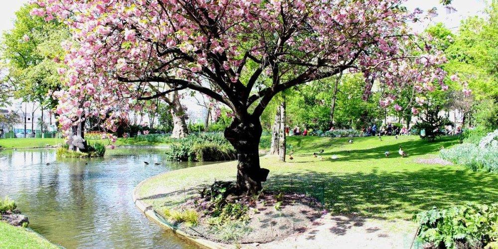 Парк Батиньоль