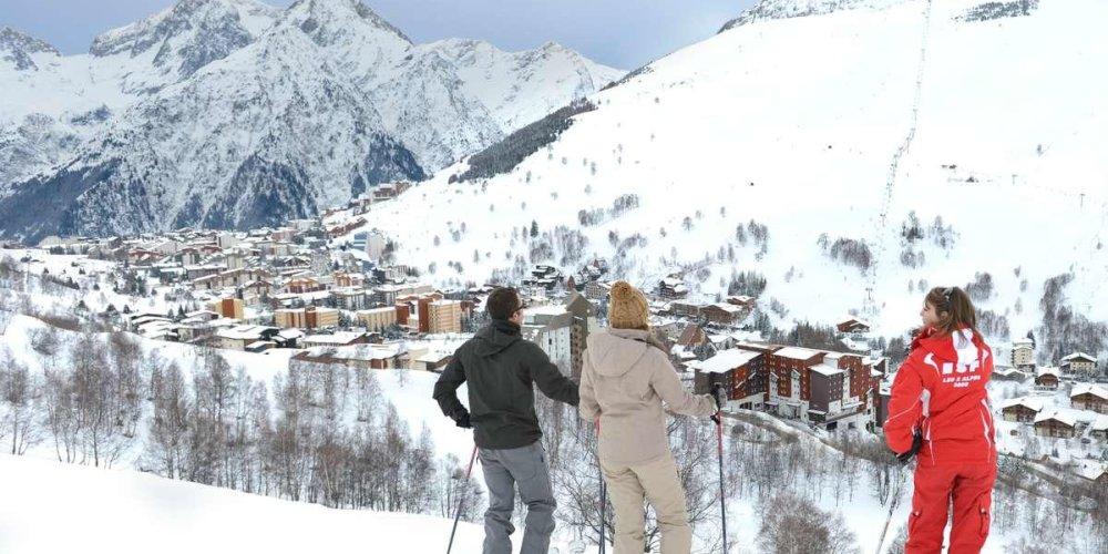 Горнолыжный курорт Ле-Дез-Альп (Les Deux Alps)
