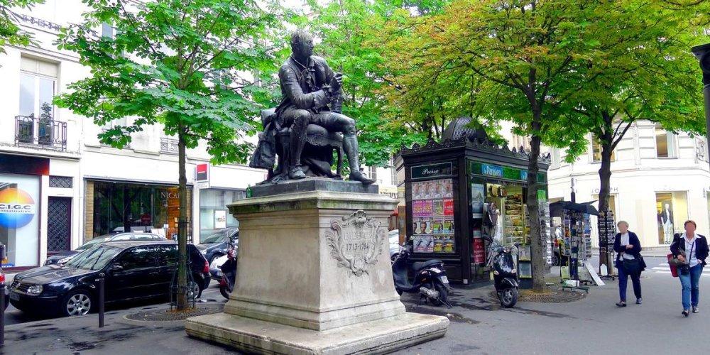 Статуя Дени Дидро