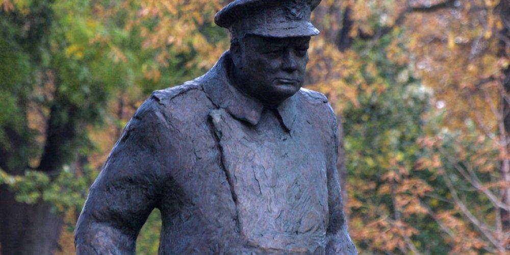 Статуя Уинстона Черчилля
