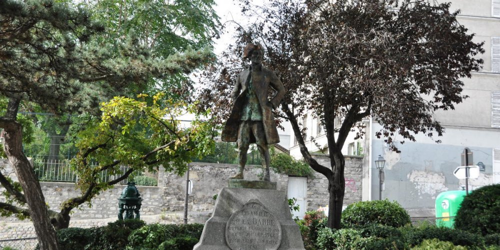 Статуя Франсуа-Жан де ла Барра