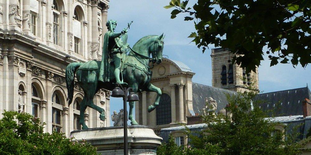 Статуя Этьена Марсель