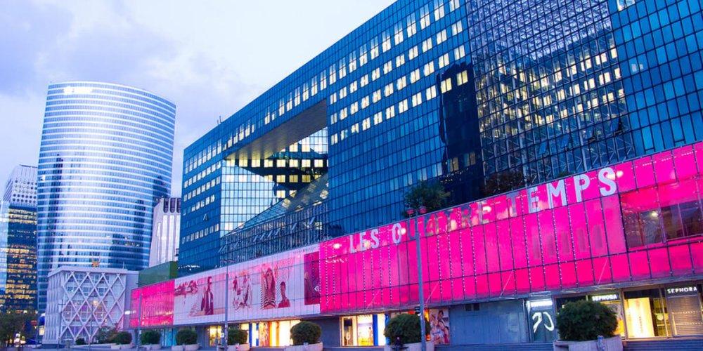 Торговый центр Les 4 Temps