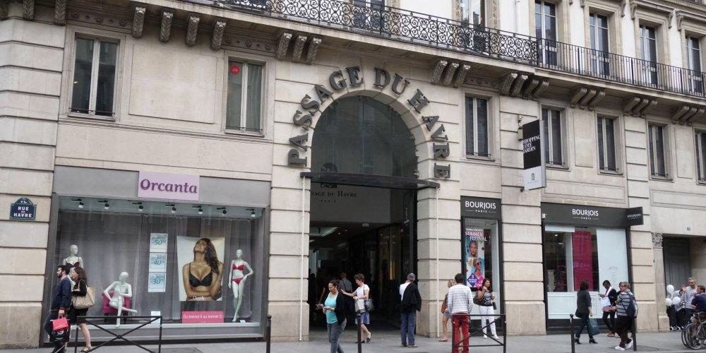 Торговый центр Passage du Havre