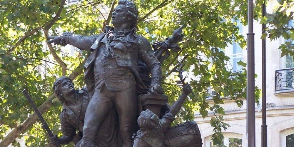 Статуя Дантона