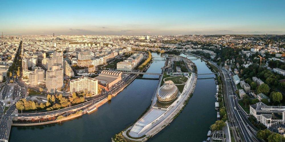 Музыкальный комплекс La Seine musicale