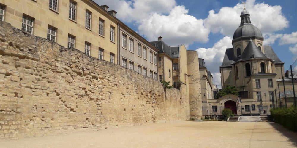 Крепостная стена Филиппа Августа