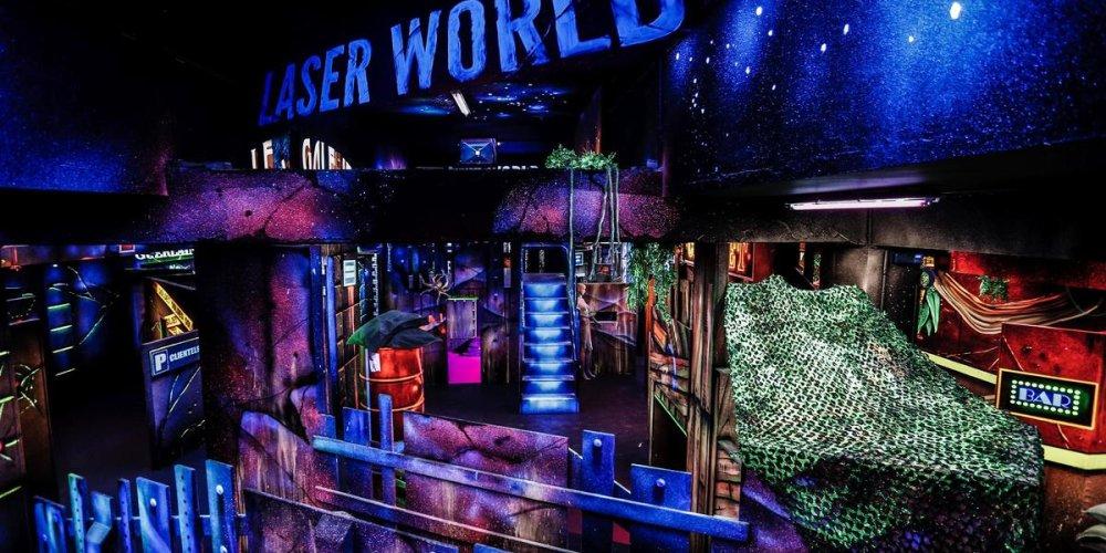 Лазертаг-клуб Laser Paris
