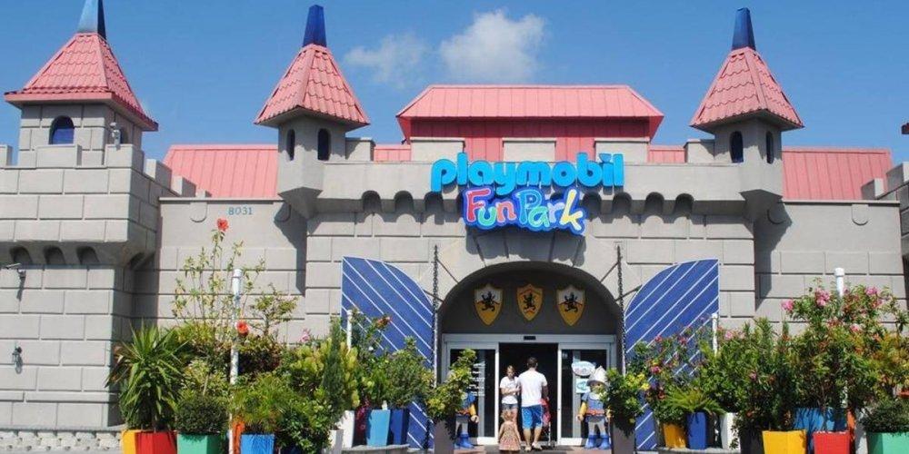 Парк развлечений Playmobil Funpark