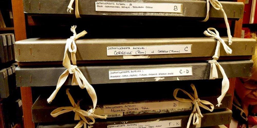 Библиотека-музей Комеди Франсез
