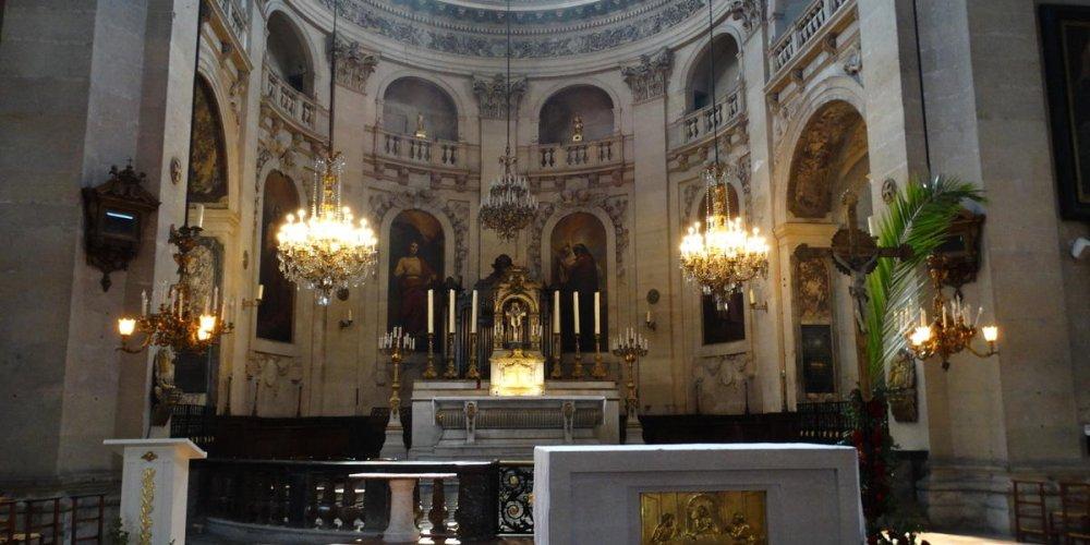 Церковь Сен-Поль-Сен-Луи