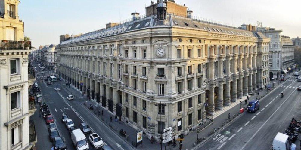 Почта в Париже