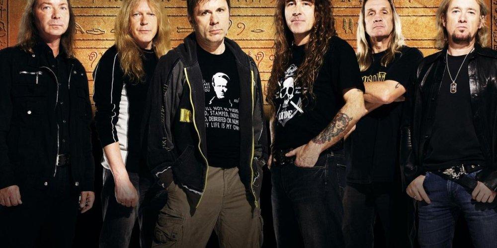 Концерт Iron Maiden