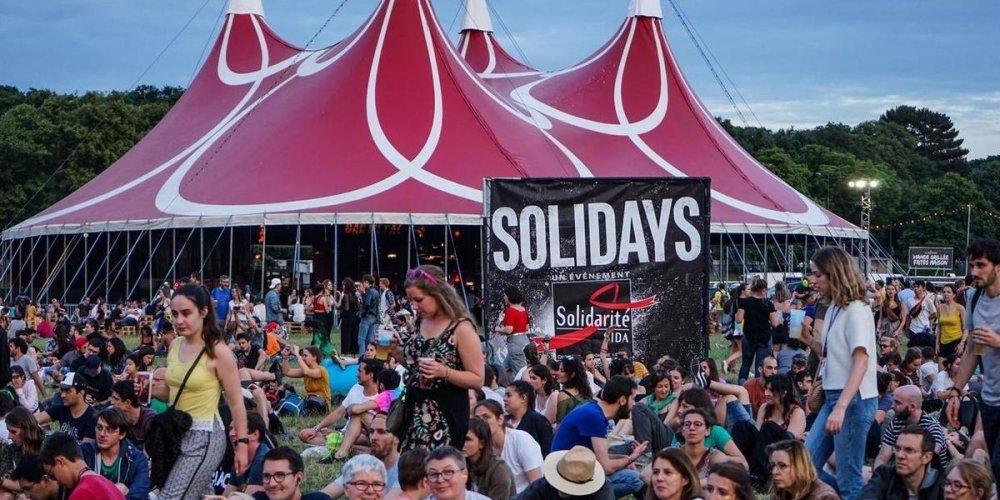 Музыкальный фестиваль Solidays