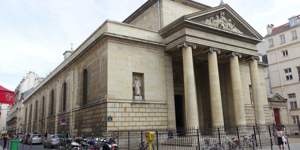 Церковь Сен-Дени-дю-Сен-Сакреман
