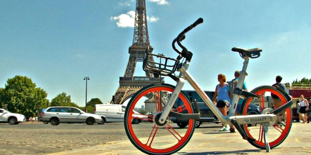 По Парижу на велосипеде