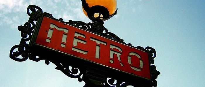Метро во Париже