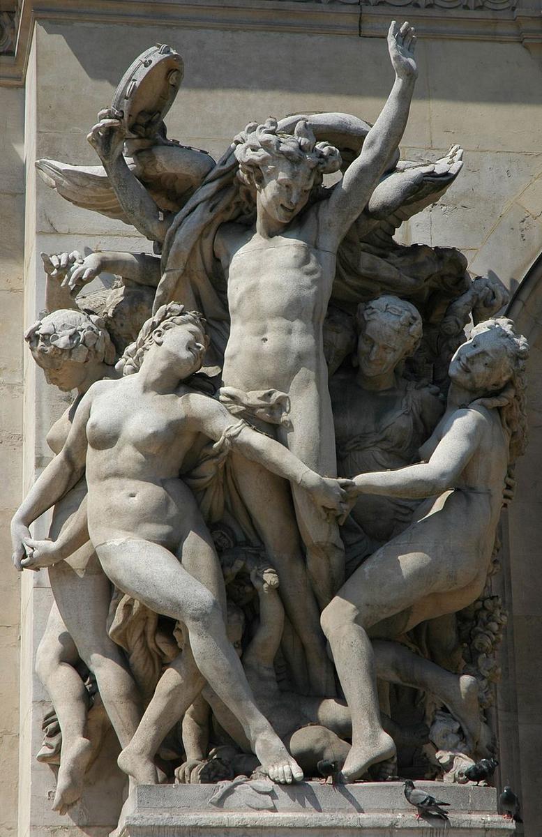 Скульптура танец жана батиста карпо