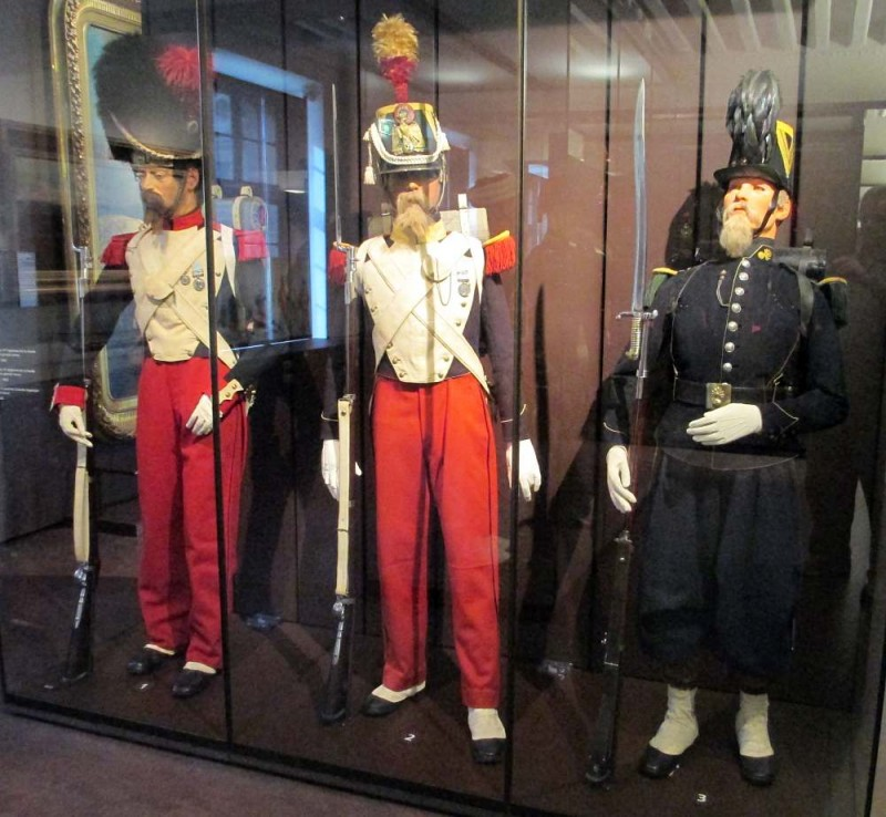 Военные исторические ценности нового времени 1643-1871 годов