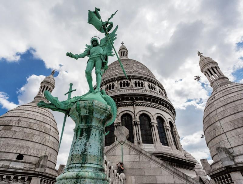 Париж: Базилика Сакре-Кёр, ее достопримечательности