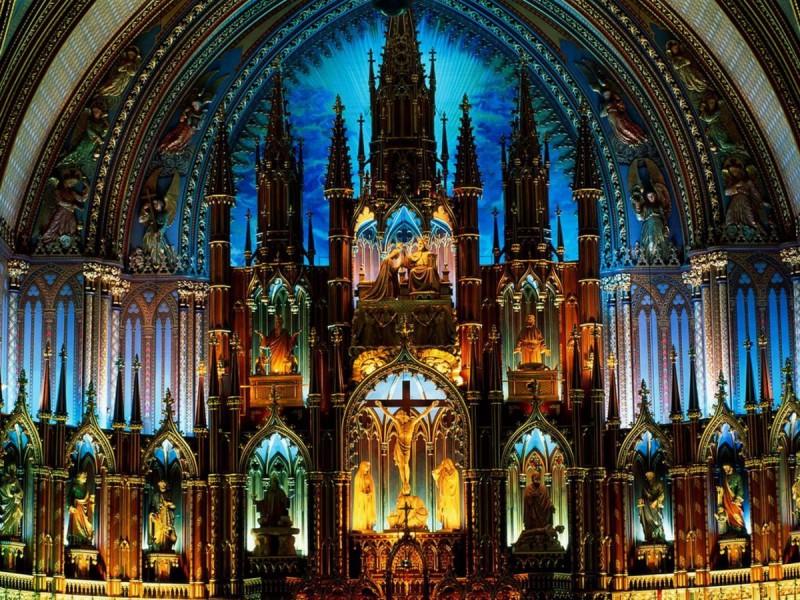 алтарь собора Нотр-дам