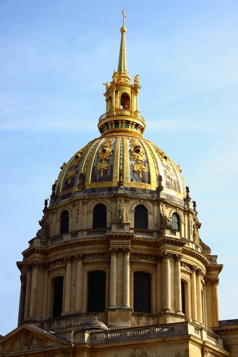 Обои Государственный Дом Инвалидов, купол, Инвалиды. Города foto 18