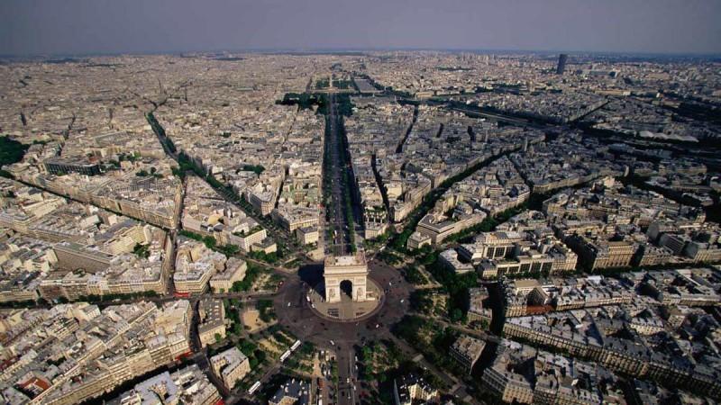 смотровая площадка Триумфальной арки