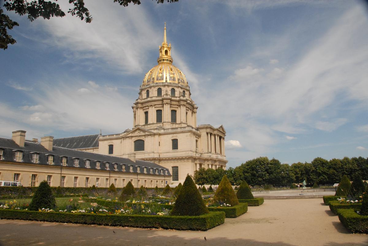 Обои Государственный Дом Инвалидов, купол, Инвалиды. Города foto 11