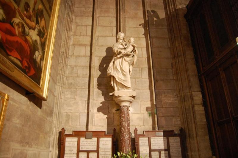 Vierge à l'Enfant «Notre Dame de Paris»
