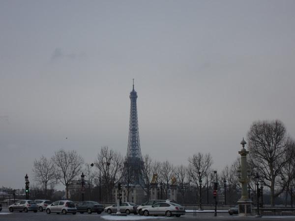 Погода в париже в феврале 2