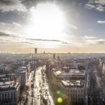 Фотографии Парижа в январе2