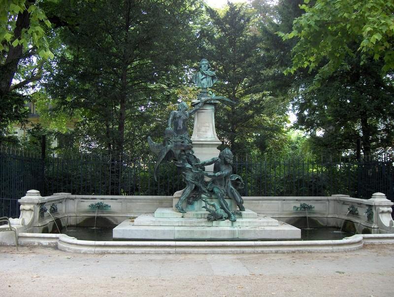 фонтан делакруа